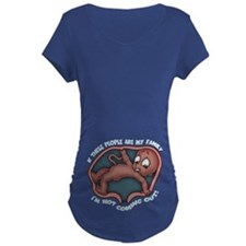 familiaphobia-DS-DKT.png Maternity T-Shirt