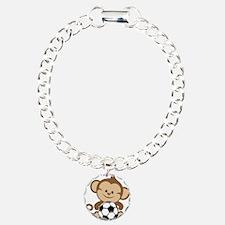 Soccer Monkey Bracelet