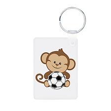Soccer Monkey Keychains