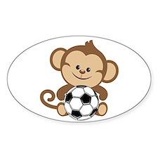 Soccer Monkey Decal