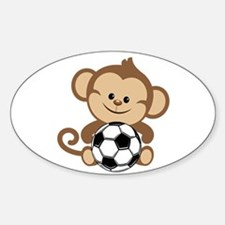 Soccer Monkey Decal