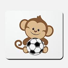 Soccer Monkey Mousepad