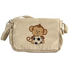 Soccer Monkey Messenger Bag