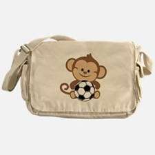 Soccer Monkey Messenger Bag