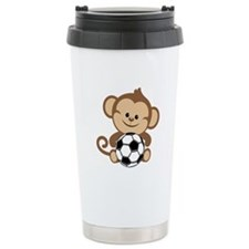 Soccer Monkey Travel Mug