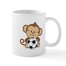 Soccer Monkey Small Mug