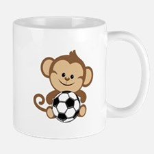 Soccer Monkey Small Small Mug