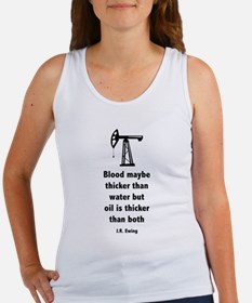Dallas J.R. Ewing Quote Women's Tank Top