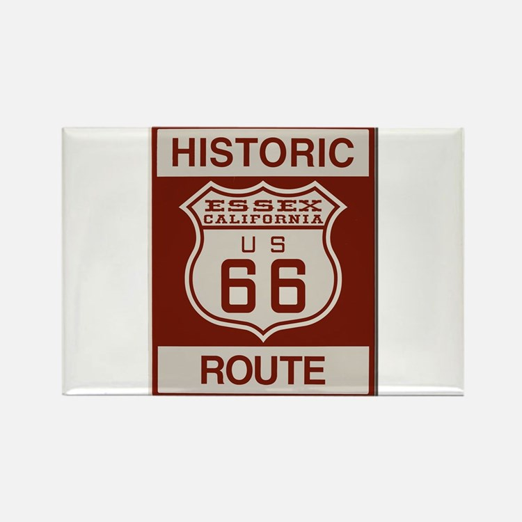 Essex Route 66 Rectangle Magnet