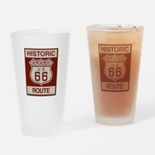 Essex Route 66 Drinking Glass