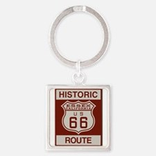 Essex Route 66 Square Keychain