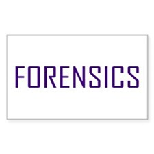 Forensics Rectangle Decal