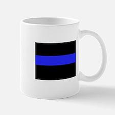Police Black and Blue Mug