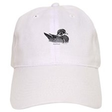 Wood Duck Baseball Baseball Cap