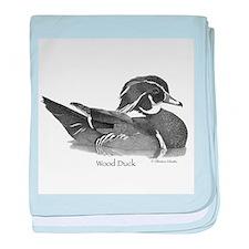 Wood Duck baby blanket