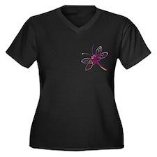 Celtic Dragonfly Plus Size T-Shirt