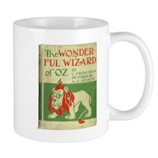 Vintage Wizard Of Oz Book Cover Small Mug