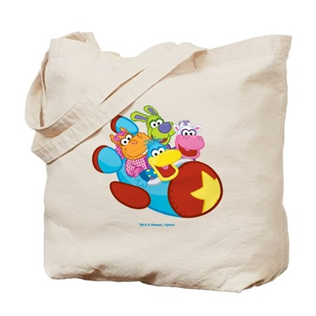 Blastoff Pajanimals Tote Bag