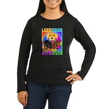 Labrador Retriever Graphic BLK.jpg Long Sleeve T-S