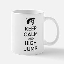 Keep calm and high jump Mug