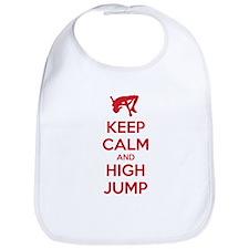Keep calm and high jump Bib