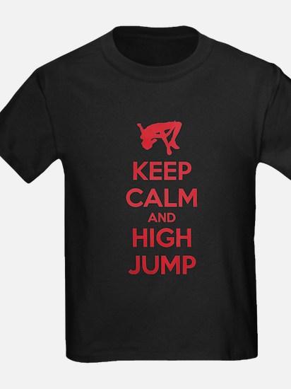 Keep calm and high jump T