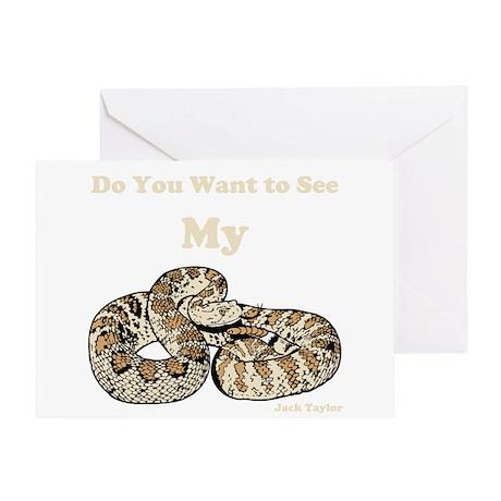 My Snake Greeting Card