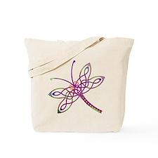 Celtic Dragonfly Tote Bag