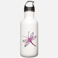 Celtic Dragonfly Water Bottle