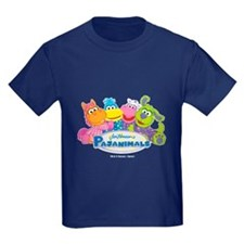 Group Hug Pajanimals Kid's Dark T-Shirt
