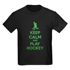 Keep calm and play hockey T