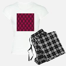 Pink and Black Decorative Pajamas