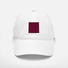 Pink and Black Decorative Baseball Baseball Baseball Cap