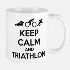 Keep calm and triathlon Mug