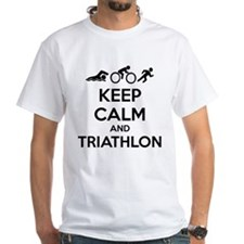 Keep calm and triathlon Shirt