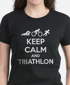 Keep calm and triathlon Tee