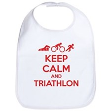 Keep calm and triathlon Bib