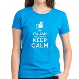 Keep calm italian Tops