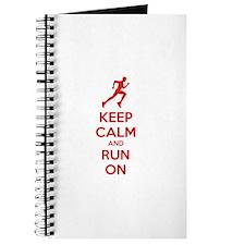 Keep calm and run on Journal