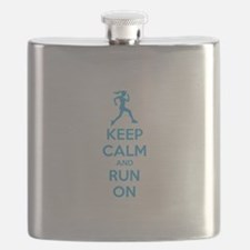Keep calm and run on Flask