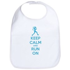 Keep calm and run on Bib