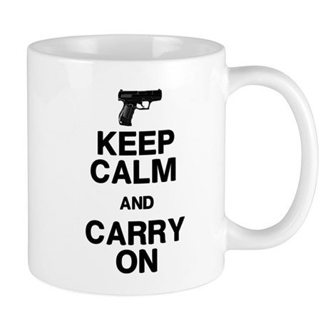 Keep Calm Carry On Mug