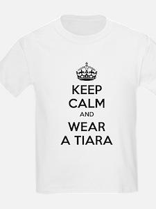 Keep calm and wear a tiara T-Shirt