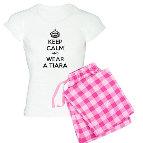 Keep calm and wear a tiara Women's Light Pajamas