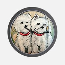 West Highland Spring Wall Clock