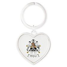 Wehner Heart Keychain
