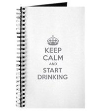 Keep calm and start drinking Journal