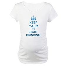 Keep calm and start drinking Shirt