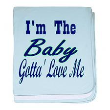 I'm The Baby baby blanket