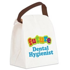 Future Dental Hygienist Canvas Lunch Bag